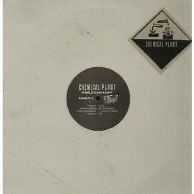 "CHEMICAL PLANT Suffer In Silence 12"" VINYL UK D.O.R. 1992 5 Track (Ador7433)"