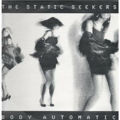 "STATIC SEEKERS Body Automatic 12"" VINYL US Axis 1990 6 Track B/W Deep Space"