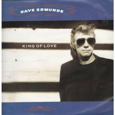 """DAVE EDMUNDS King Of Love 12"""" VINYL UK Capitol 1990 3 Track B/W Stay With Me"""