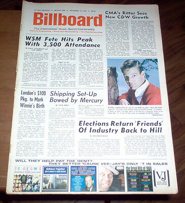 Billboard Magazine 1964 Rolling Stones Beatles DC5 Articles Supremes #1 Single