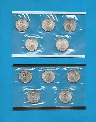 2006 P and D State Quarters - BU Satin Finish-still in mint cellos-TEN COINS