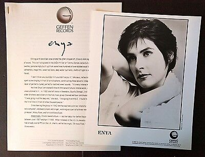 RARE Enya Press Kit for Watermark! Photo N93