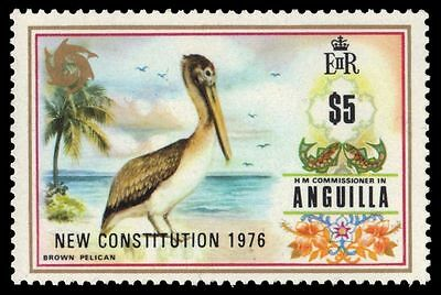 "ANGUILLA 245 (SG239) - New Constitution ""Brown Pelican"" (pa44565)"
