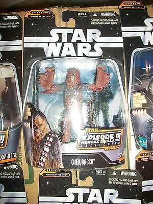 Star Wars Chewbacca Action Figure Episode III Heroes and Villains #7