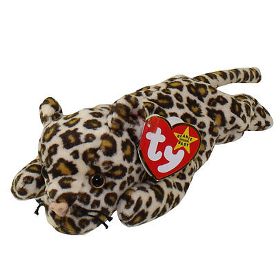 TY Beanie Baby - FRECKLES the Leopard (8.5 inch) - MWMTs Stuffed Animal Toy