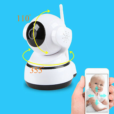 Wireless WiFi 720P HD Cam Home Indoor Security System IP Camera IR Night Vision