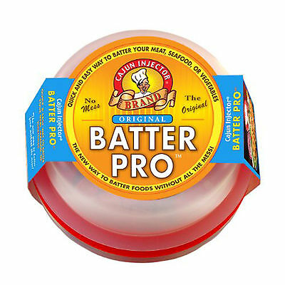 **New Batter Pro Bowl Cajun Injector for Breading Battering Rubs Spices 22201