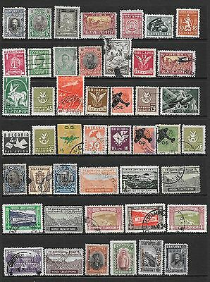 BULGARIA Interesting Early Mint and Used Issues Selection (Dec 0396)