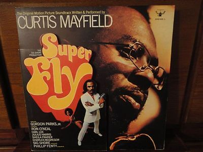 """Lp Italy - Curtis Mayfield - """"super Fly"""" Prima Stampa 1972 - 3/4 Cover Top Rare!"""