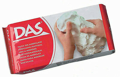 DAS 150g White Air Drying Modelling/Craft Clay Buy 2 get get a 3rd FREE offer 1s