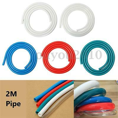 2M Water Cooling PVC Computer Water Cooling Tube 8mm ID x 12mm OD Turbing Pipe