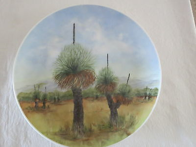 Alva Large Blackboy Hand Painted Ex Wembley Ware Plate Royal Fine China 27 Cm