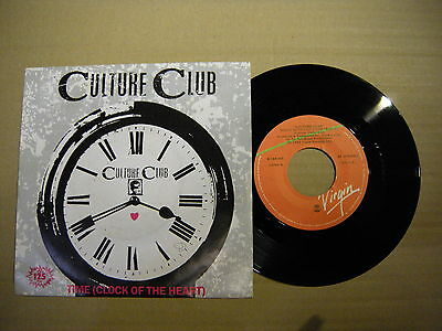 Culture Club – Time (Clock Of The Heart)'  7'' MINT  SPAIN PRESS