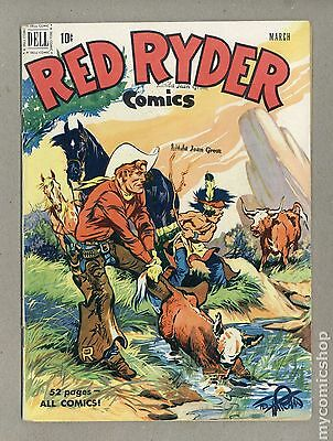 Red Ryder Comics (1941) #92 GD/VG 3.0