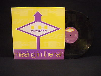 T.H. Express – Missing In The Rain ' 12'' VG++ SPAIN PRESS