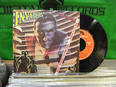 THE Invaders – Best Thing I Ever Did (New Future) ' 7'' VG++ SPAIN PRESS