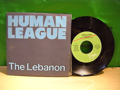 THE Human League  ‎– The Lebanon ' 7'' MINT  SPAIN PRESS