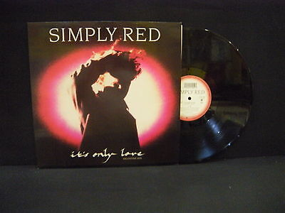 Simply Red – It's Only Love (Valentine Mix) ' 12'' MINT SPAIN PRESS