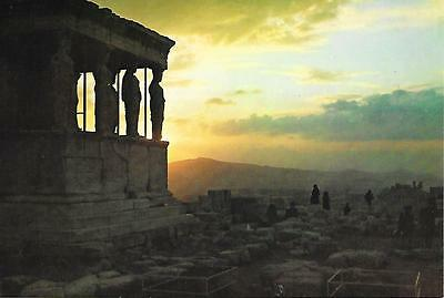 Athens -  Sunset from the Acropolis - Unused Postcard
