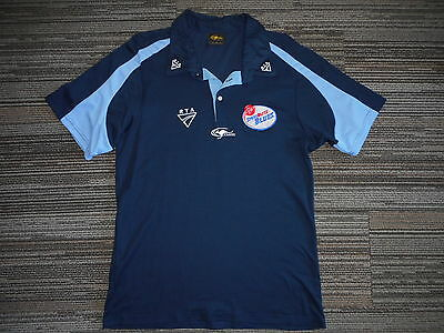 Nsw Blues Cricket Team Players Polo Shirt Large