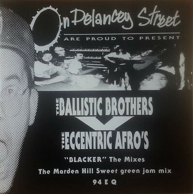 """12"""" The Ballistic Brothers Vs. The Eccentric Afros Blacker The Marden Hill Mixes"""