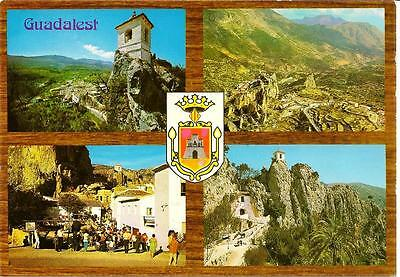Guadalest - Views - Unposted Postcard