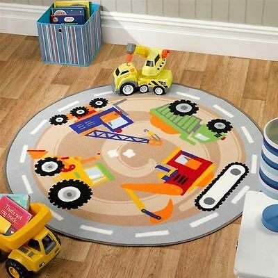 Matrix Kiddy Diggers Rug 133cm X 133cm