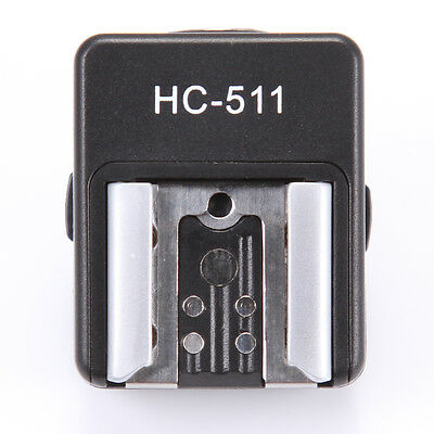 HC511 Hot Shoe Adapter for Sony A7 A7R A7S II Camera MI Interface to Canon Flash