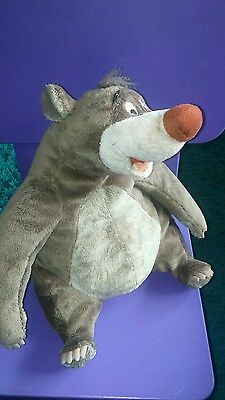 Disney Jungle Book Baloo Soft Cuddly Toy Disney Store exclusive