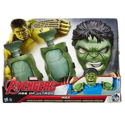 Marvel Avengers Age of Ultron Incredible Hulk Muscles and Mask Set