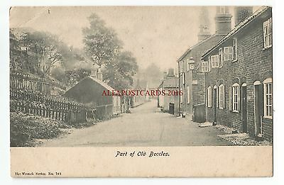 Suffolk Old Beccles Vintage Postcard 08.11