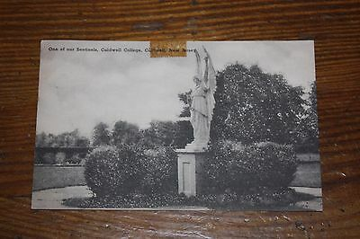 Vintage Postcard One Of Our Sentinels, Caldwell College, Caldwell, New Jersey