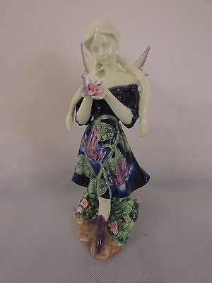 Old Tupton Ware Hand Painted Fairy Large Figure   #dac58Jt
