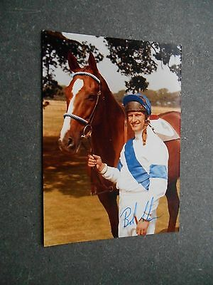 SIGNED  BOB CHAMPION  Photo - 13 x 8 cms/ 4.75 x 3.5 inches - Kodak