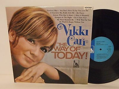 60s Pop Vocal VIKKI CARR the way of today! 1966 UK Stereo Vinyl LP Mint