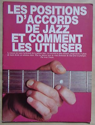 les positions d'accords de jazz et comment les utiliser en guitare - Artie Traum