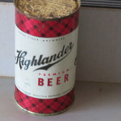 Highlander   Beer   Nice Inside  Different Variety   Montana  Flat Top