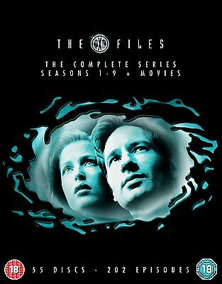 The X Files: Complete Seasons (Series) 1 2 3 4 5 6 7 8 9 + Movies Box Set | New