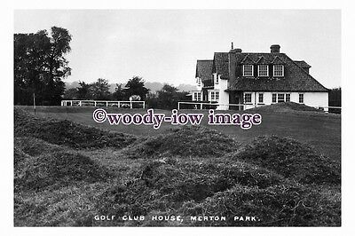rt0058 - Merton Park , Golf Club House , Surrey - photograph