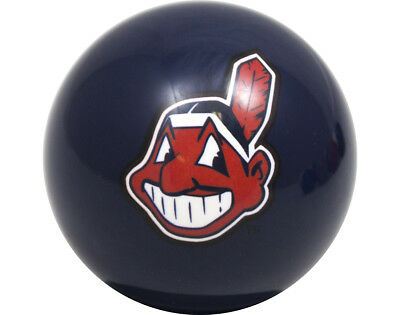 MLB Imperial Cleveland Indians Pool Billiard Cue/8 Ball - Blue