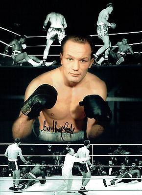 Sir Henry COOPER Signed Autograph Boxing Massive 16x12 Montage Photo AFTAL COA
