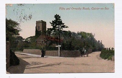 Norfolk,   CAISTER,  Filby & Ormesby Roads, 1913