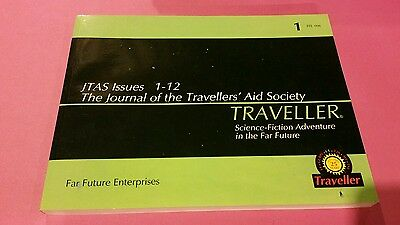 Jtas Issues 1-12 Journal Of The Travellers Aid Society - Traveller Rpg Oop Ffe