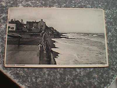 High Water, Sheringham, Norfolk - 1940 Postcard
