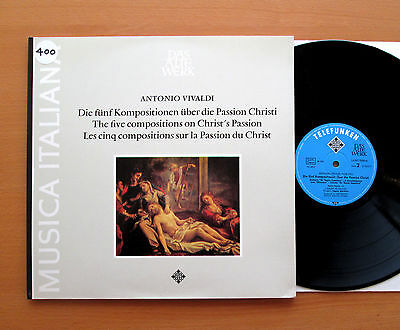 SAWT 9590-A Vivaldi Five Compositions On Christ's Passion Angelo Ephrikian NM