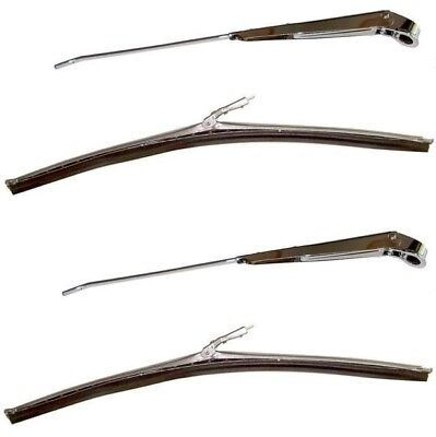 1966 1967 1968 Mustang Wiper Arms And Blades Kit