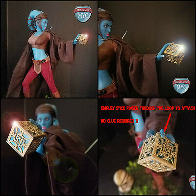 Custom Jedi Holocron for Sideshow Aayla Secura Premium Format Statue exclusive