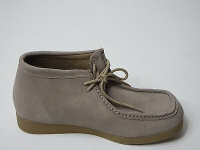 Men Shoes Casual Nude Suede Lace Up Size 10 Rugged Earth Outfitters Platform