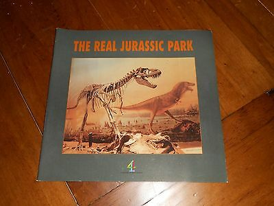 The Real Jurassic Park - Channel 4 Television Dinosaurs Paperback Book
