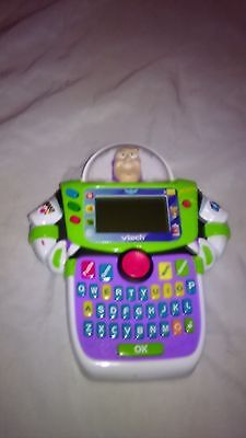 Buzz Lightyear Toy Story Vtech Alphabet Learn & Go Handheld Game